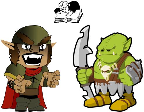 Ork, goblin a lingvista
