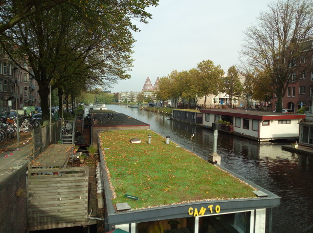 A Gracht and House Boats